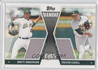 Brett Anderson, Trevor Cahill /50