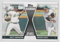 Brett Anderson, Trevor Cahill