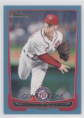 2012 Bowman - [Base] - Blue Border #169 - Stephen Strasburg /500