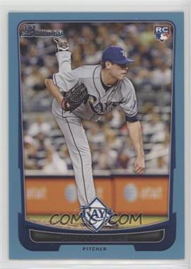 2012 Bowman - [Base] - Blue Border #211 - Matt Moore /500