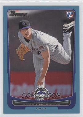 2012 Bowman - [Base] - Blue Border #212 - Drew Pomeranz /500