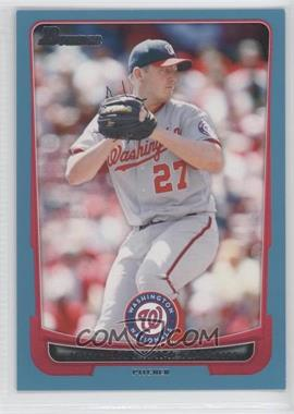 2012 Bowman - [Base] - Blue Border #54 - Jordan Zimmermann /500