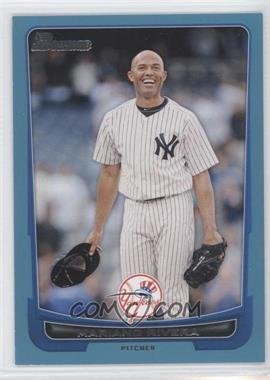 2012 Bowman - [Base] - Blue Border #66 - Mariano Rivera /500
