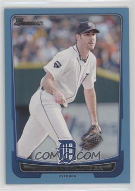 2012 Bowman - [Base] - Blue Border #77 - Justin Verlander /500