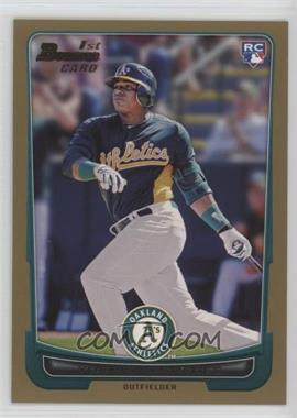 2012 Bowman - [Base] - Gold Border #193 - Yoenis Cespedes