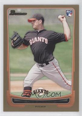 2012 Bowman - [Base] - Gold Border #200 - Eric Surkamp