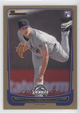 2012 Bowman - [Base] - Gold Border #212 - Drew Pomeranz