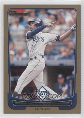2012 Bowman - [Base] - Gold Border #41 - B.J. Upton