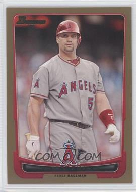 2012 Bowman - [Base] - Gold Border #49 - Albert Pujols