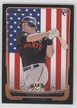 2012 Bowman - [Base] - International #198 - Brett Pill