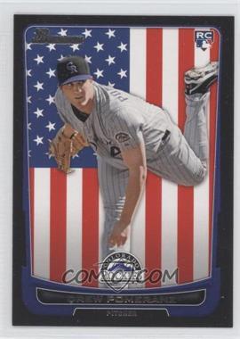 2012 Bowman - [Base] - International #212 - Drew Pomeranz