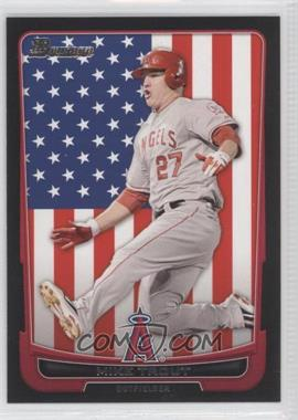 2012 Bowman - [Base] - International #34 - Mike Trout