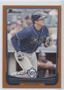2012 Bowman - [Base] - Orange Border #149 - Evan Longoria /250