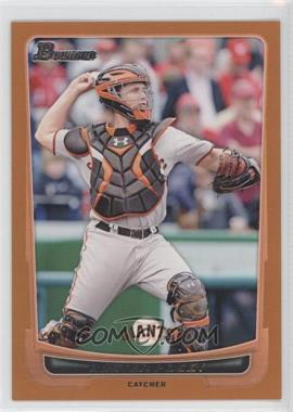 2012 Bowman - [Base] - Orange Border #163 - Buster Posey /250