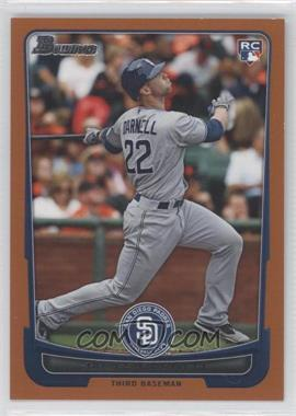 2012 Bowman - [Base] - Orange Border #194 - James Darnell /250