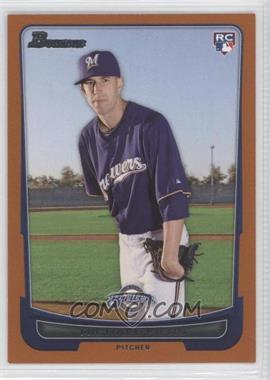 2012 Bowman - [Base] - Orange Border #197 - Michael Fiers /250