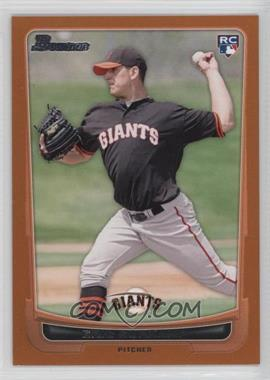 2012 Bowman - [Base] - Orange Border #200 - Eric Surkamp /250