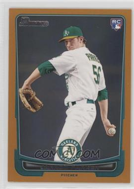 2012 Bowman - [Base] - Orange Border #213 - Jarrod Parker /250