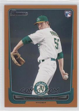 2012 Bowman - [Base] - Orange Border #213 - Jarrod Parker /250