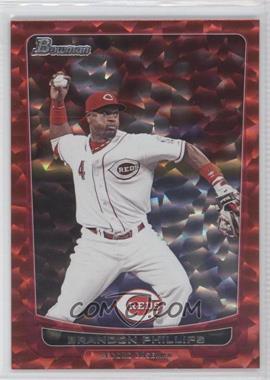 2012 Bowman - [Base] - Red Ice #145 - Brandon Phillips /25