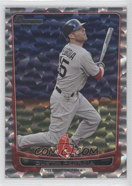 2012 Bowman - [Base] - Silver Ice #141 - Dustin Pedroia