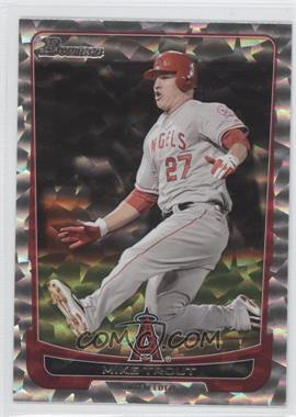 2012 Bowman - [Base] - Silver Ice #34 - Mike Trout