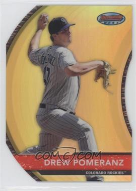 2012 Bowman - Bowman's Best - Die-Cut Refractor #BB5 - Drew Pomeranz /99