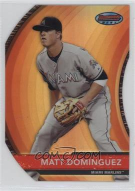2012 Bowman - Bowman's Best - Die-Cut Refractor #BB8 - Matt Dominguez /99