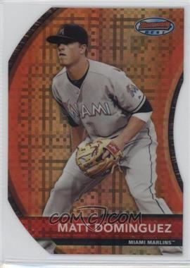 2012 Bowman - Bowman's Best - Die-Cut X-Fractor #BB8 - Matt Dominguez /25
