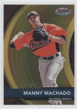 2012 Bowman - Bowman's Best Prospects #BBP2 - Manny Machado