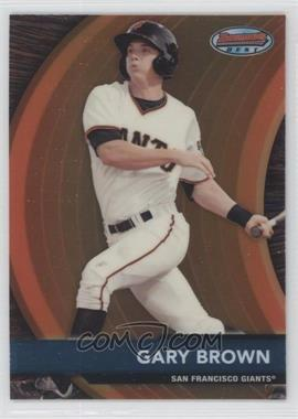 2012 Bowman - Bowman's Best Prospects #BBP25 - Gary Brown