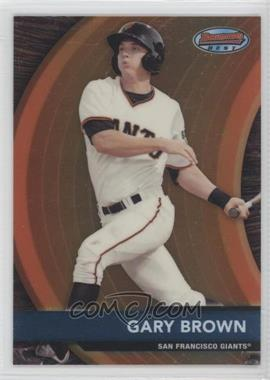 2012 Bowman - Bowman's Best Prospects #BBP25 - Gary Brown