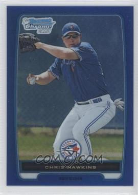 2012 Bowman - Chrome Prospects - Blue Refractor #BCP138 - Chris Hawkins /250