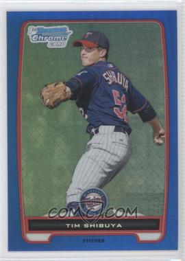 2012 Bowman - Chrome Prospects - Blue Refractor #BCP162 - Tim Shibuya /250