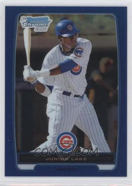 2012 Bowman - Chrome Prospects - Blue Refractor #BCP213 - Junior Lake /250
