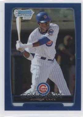 2012 Bowman - Chrome Prospects - Blue Refractor #BCP213 - Junior Lake /250