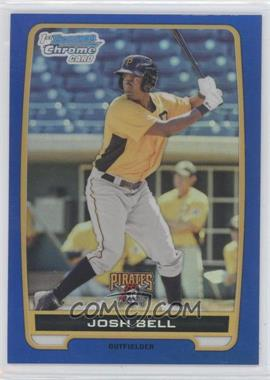 2012 Bowman - Chrome Prospects - Blue Refractor #BCP79 - Josh Bell /250
