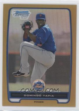 2012 Bowman - Chrome Prospects - Gold Refractor #BCP211 - Domingo Tapia /50