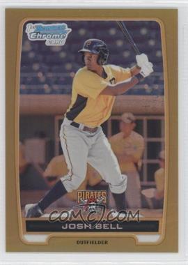 2012 Bowman - Chrome Prospects - Gold Refractor #BCP79 - Josh Bell /50