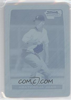 2012 Bowman - Chrome Prospects - Printing Plate Cyan #BCP25 - Raul Alcantara /1
