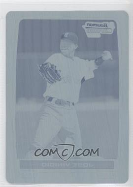 2012 Bowman - Chrome Prospects - Printing Plate Cyan #BCP55 - Jose Vinicio /1