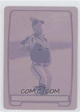 2012 Bowman - Chrome Prospects - Printing Plate Magenta #BCP24 - J.R. Graham /1