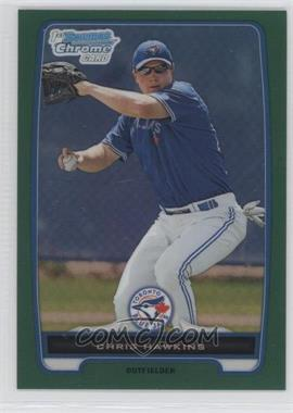 2012 Bowman - Chrome Prospects - Rack Pack Green Refractor #BCP138 - Chris Hawkins