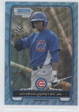 2012 Bowman - Chrome Prospects - Redemption Refractor Blue Wave #BCP117 - Shawon Dunston Jr.