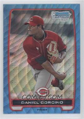 2012 Bowman - Chrome Prospects - Redemption Refractor Blue Wave #BCP59 - Daniel Corcino