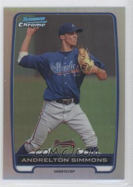 2012 Bowman - Chrome Prospects - Refractor #BCP109 - Andrelton Simmons /500