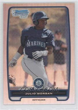 2012 Bowman - Chrome Prospects - Refractor #BCP124 - Julio Morban