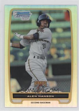 2012 Bowman - Chrome Prospects - Refractor #BCP143 - Alen Hanson
