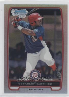 2012 Bowman - Chrome Prospects - Refractor #BCP181 - Estarlin Martinez
