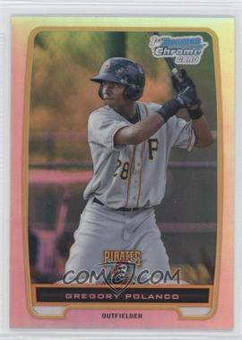 2012 Bowman - Chrome Prospects - Refractor #BCP182 - Gregory Polanco